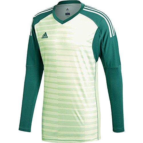 30b7c38fd90 adidas ADIPRO 18 Goalkeeper Jersey tech Forest/aero Green/Off White for  Soccer