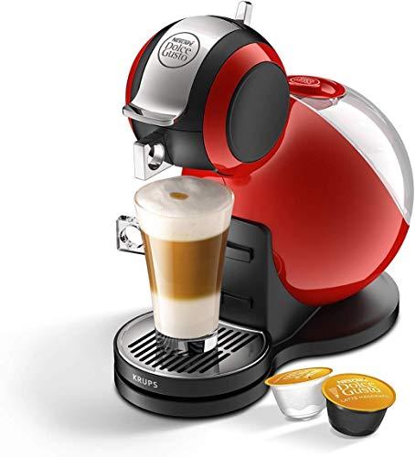 Nescafé Dolce Gusto® Melody 3 Máquina de Café Manual, Cafetera y Sistema Multibebidas, Rojo.