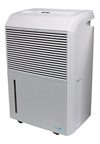 PerfectAire PADP50 50 Pints/Day Dehumidifier Adjustable Humi