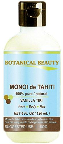 MONOI DE TAHITI Oil 100% Pure / Natural. Cold Pressed / Undi