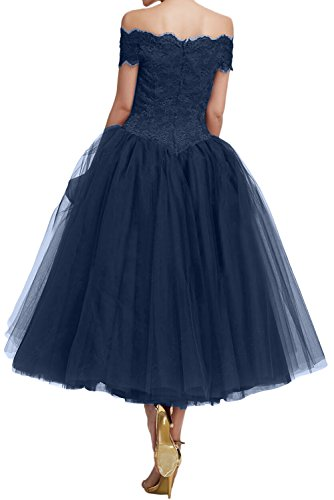 Abendkleider U Ausschnitt Ivydressing Aermeln Damen Mit Festkleid Ballkleid Spitze Lila Partykleider BEq5I5