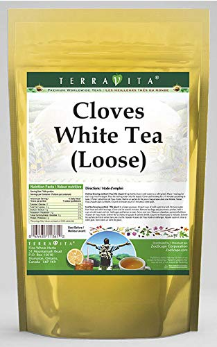 Cloves White Tea (Loose) (8 oz, ZIN: 532085) by TerraVita (Image #1)