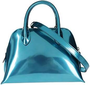 Lanvin Luxury Fashion Donna BGRG00BOREP2025 Azzurro Pelle Borsa A Mano | Primavera-estate 20