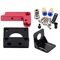 Left Hand 1.75mm 50 Teeth Metal Remote Extruder + Bracket DIY kit 3D Printer Parts Pneumatic Fittings from Made in China