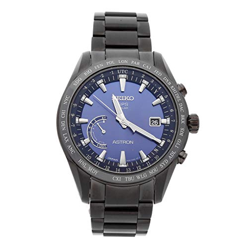 Seiko Astron GPS Solar Quartz (Battery) Blue Dial Mens Watch SSE111 (Certified Pre-Owned) -  SSE111-CPO