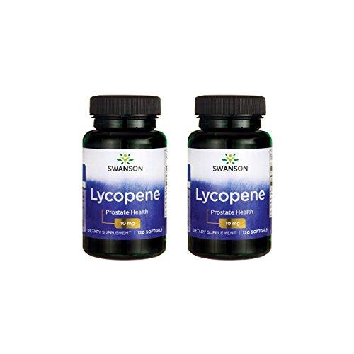 Swanson Lycopene 10 mg 120 Sgels 2 Pack by Swanson