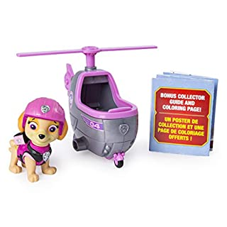 PAW Patrol Ultimate Rescue Skye's Mini Helicopter with Collectible Figure, Ages 3 and Up