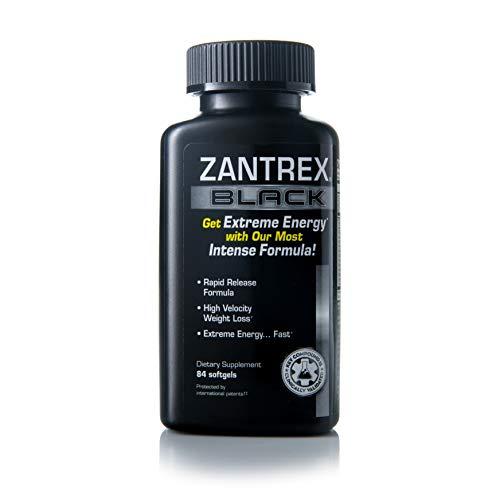 Zantrex Black – Weight Loss Supplement Pills – Weight Loss Pills – Weightloss Pills – Dietary Supplements for Weight…
