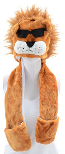 Pulama Animal Hats Halloween Costume Hat/Winter Beanies Cap for Boy Christmas Gift Mr Sunglass (Halloween Costumes 2017 College)