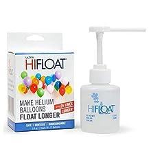 amscan Ultra hi-float Frasco 150 ML con dispensador, Multicolor, 7amhf001116