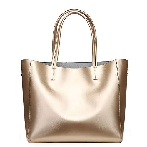 Shopping Sac Simple Main Gold à Décontracté Dames Bandoulière Sauvage Sac Capacité Grande Mode à PU Sac à Sac Main aafHqgSnr
