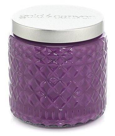 Gold Canyon Candle BlackBerry Swirl Medium Scented Jar - Scented Jar Swirl Candle