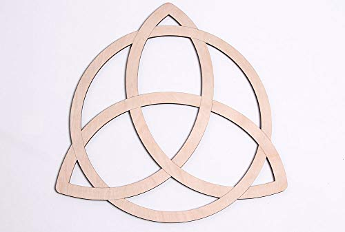 (Fourth Level Mfg. Designs, Trinity Knot Celtic Wooden 12