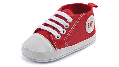 Pictures of WAM Baby Boys Girls Canvas Toddler Sneaker 3