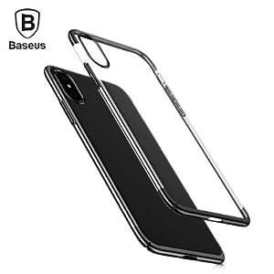 Capa Iphone X Glitter Case Baseus (Preto)