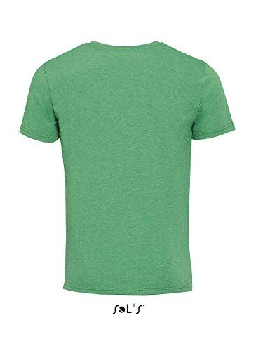 Sol's - Camiseta - para mujer VERT CHINE
