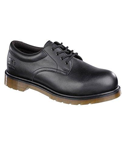 Alexandra Dr. Martens stc-fw208bk-12Alexandra Dr. Martens Sicherheit Schuhe, Uni, Leder, Größe: 12, schwarz