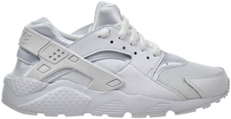 61d9238bac Nike Huarache Run (GS) Big Kid's Shoes White/Pure Platinum 654275-110