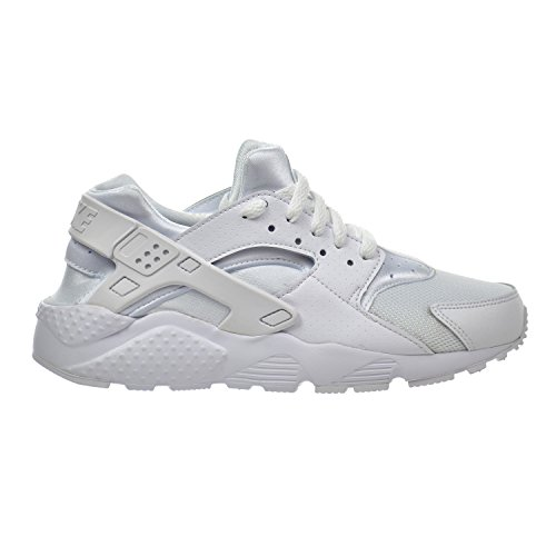 Nike Huarache Run (GS) Big Kid 's Zapatos Blanco/Pure Platinum 654275 –