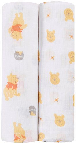 ideal baby by the makers of aden + anais Disney Swaddle 2 Pack, Winnie]()