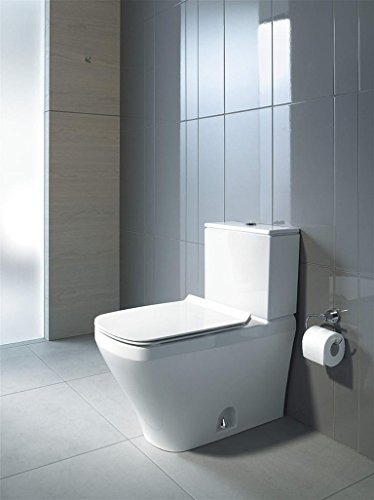 "Duravit 2160010000 Durastyle One-Piece Toilet Bowl with 12"" Rough-In, 14 5/8"" x 27 1/2"", Dual Flush (Bowl Only)"