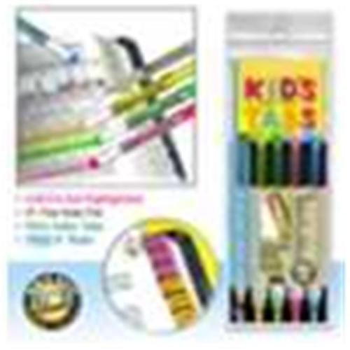 Accu-Gel & Pigma Micron Bible Study Starter Sets with Kids Verse Finder Bible Tabs