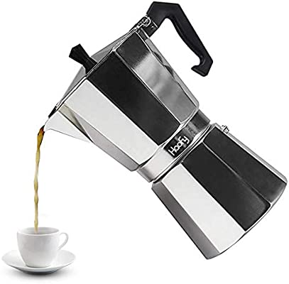 Cafeteras italianas de Acero Inoxidable Cafetera Espresso Moka ...