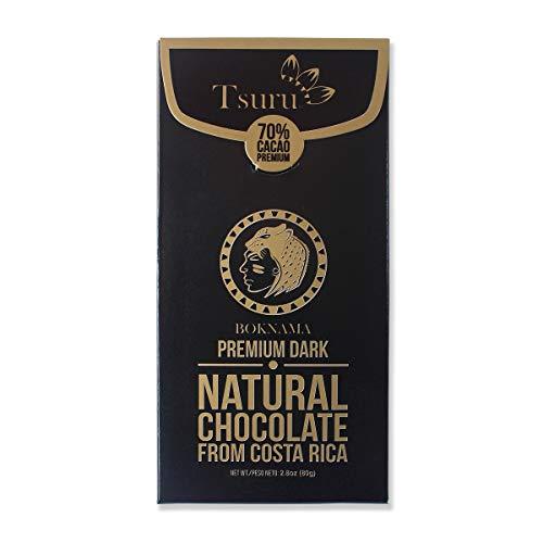 Tsuru Costa Rica 70% Premium Dark Chocolate Boknama, 2.8 oz