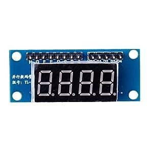 FJAMEI@ Módulo de pantalla LED de 4 dígitos 8550 Parallel conducción Triodo