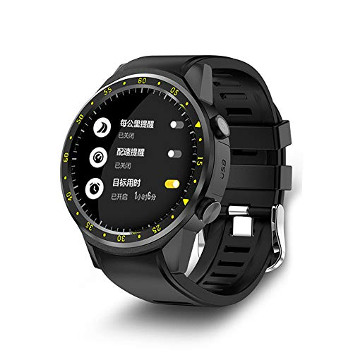 (Smart Watch Activity Tracker Multi-Sport Mode with Heart Rate Monitor Fitness Tracker with Stepper/Calorie/Distance Counter Pedometer GPS Android iOS)