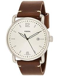 Reloj Fossil The Commuter para Hombres 42mm, pulsera de Piel de Becerro