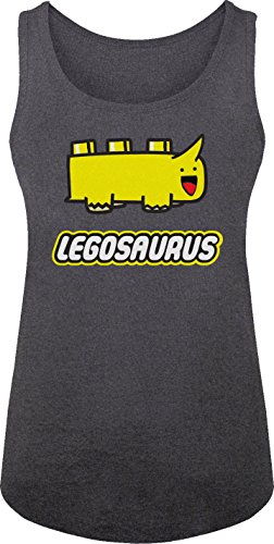 BSW Women's Legosaurus Lego Cute Dinosaur Block Tank 2XL ...