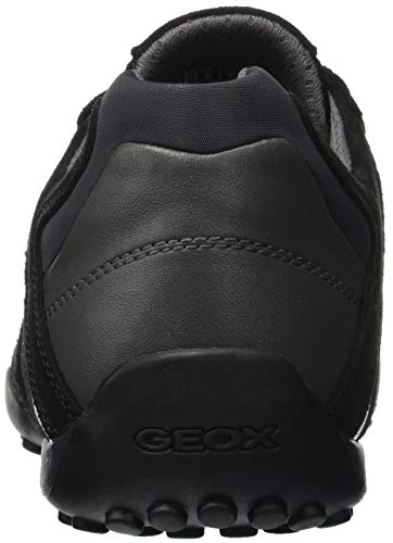 Geox Black Snake Uomo L Sneaker Nero C9999 Infilare OW6Aq6zY