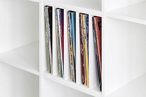 Discos para IKEA Expedit estantería (blanco): Amazon.es: Hogar