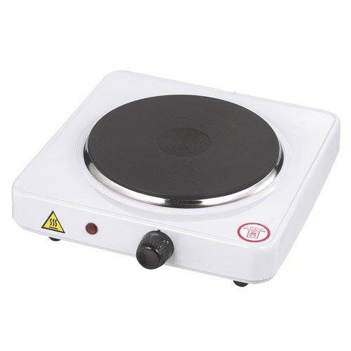 Fornello elettrico 1 piastra 1500W - Piastra 185 mm - Termostato regolabile Papillon 8140200