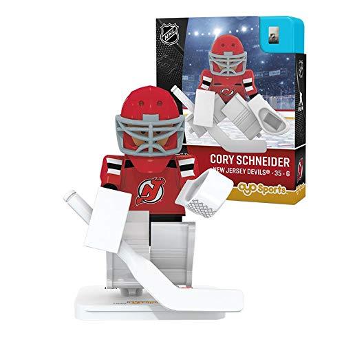 NHL New Jersey Devils Sports Fan Bobble Head Toy Figures, red White/Black, One Size