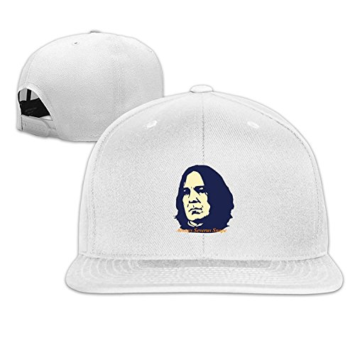 Custom Unisex Always Severus Star Snape Snapback Baseball Caps Hat White