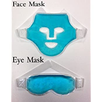 Amazon Com Face Amp Eye Mask Ice Packs Health And