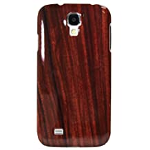 Exian S4015 Samsung Galaxy S4 Case Wood Grain Pattern-Retail Packaging