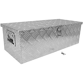 "Amazon.com: 30"" Aluminum Camper Tool Box W/ Lock Pickup"