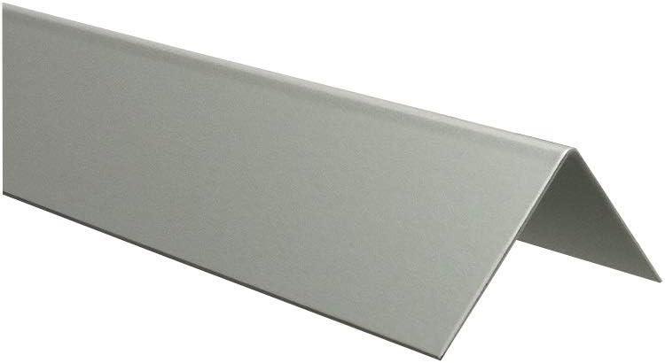 Alu Kantenschutz Aluminium Eloxiert Silber natur 2000 mm 1,0 mm 40 x 15 x 1,0 mm