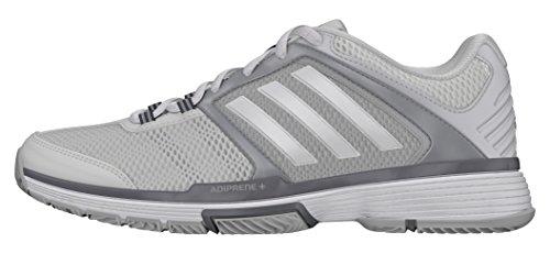 Gris Tennis adidas Barricade Chaussures 3 Club 43 Femme EU de Blanc W Z0qZX