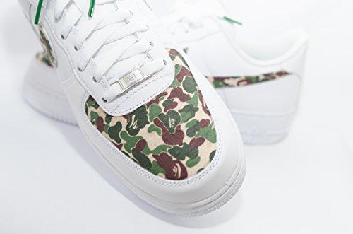 Nike Air Force 1 AF1 Custom Bathing Ape Bape Camo Edition - Bape Ape Mens Shoes