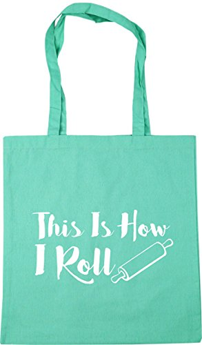 Roll Bag How This 10 Tote litres Gym Shopping HippoWarehouse x38cm I Mint Beach 42cm Is IwTCxEzqEA