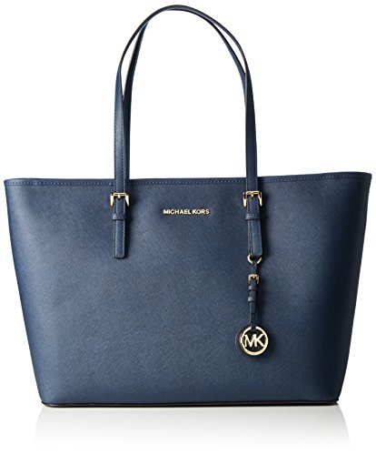 Michael Kors Jet Set Women's Medium 30T5GTVT2L Handbag Blue by MICHAEL Michael Kors