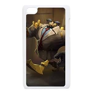 iPod Touch 4 Case White Blitzcrank DIY Gift pxf005-3692143