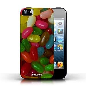 Kobalt® protector duro de nuevo caso / cubierta para el Apple iPhone 5/5S | Caramelos de goma Diseño | Dulces y caramelos colección