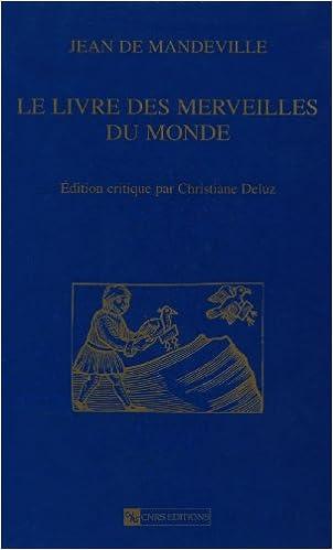 Jean De Mandeville Le Livre Des Merveilles Du Monde S H M 31