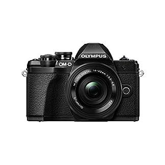 Olympus OM-D E-M10 Mark III Mirrorless Micro Four Thirds Digital Camera with 14-42mm EZ Lens & 16GB SDHC Card (Black… 1