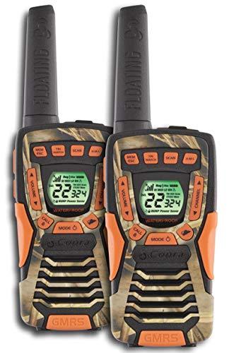 COBRA CXT1045R-FLT 37 Mi Waterproof Floating 2-Way Radios Walkie Talkies